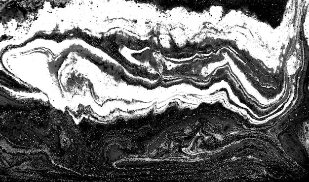 Monochrome abstract pattern. marble imitation background.