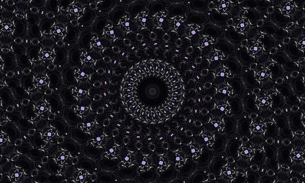흑백 꽃 패턴입니다. 꽃과 손으로 그린 텍스처입니다. 색칠하기 책 페이지 디자인, 성인용 안티 스트레스 취미에 사용할 수 있습니다. 느와르 테마, 흑백 그림입니다.