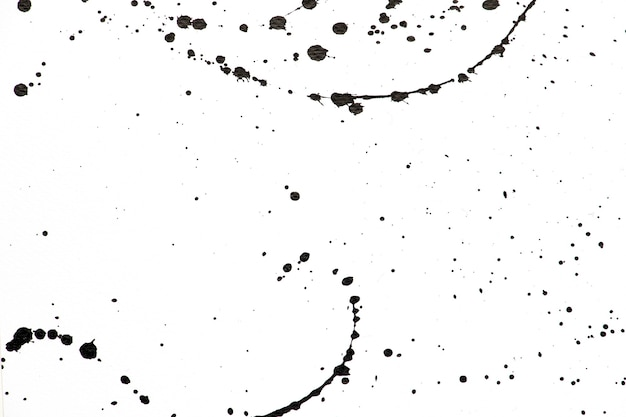 흑백 수채화 드롭 배너