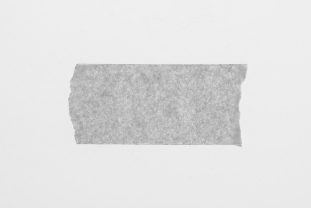 Monockrome stick tape on white background