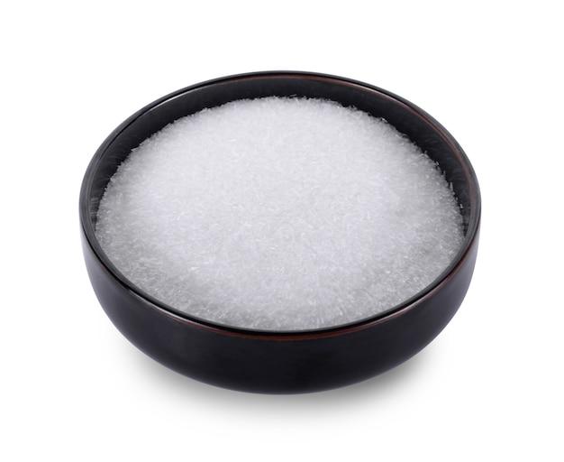 흰색 바탕에 글루탐산 나트륨