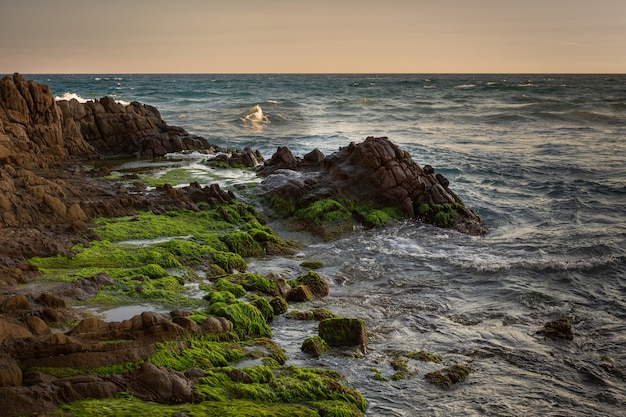 モンスルビーチ。サンノゼ。カボデガタ自然公園。スペイン。