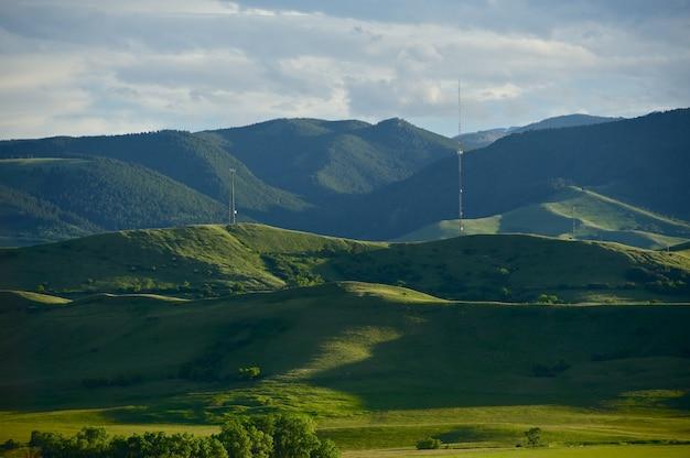 Montana summer landscape