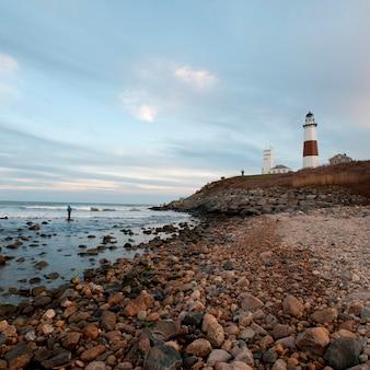 Montauk Point Light House in the Hamptons