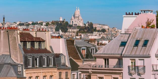 Монмартр в париже, франция