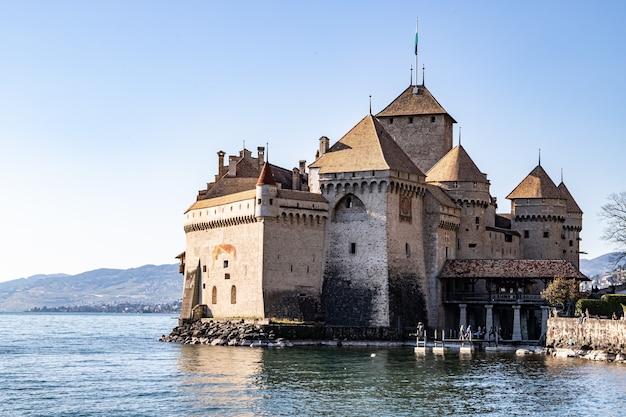 Montreux switzerland  chillon castle