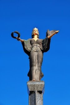 Monument to the deity all-holy sofia, bulgaria