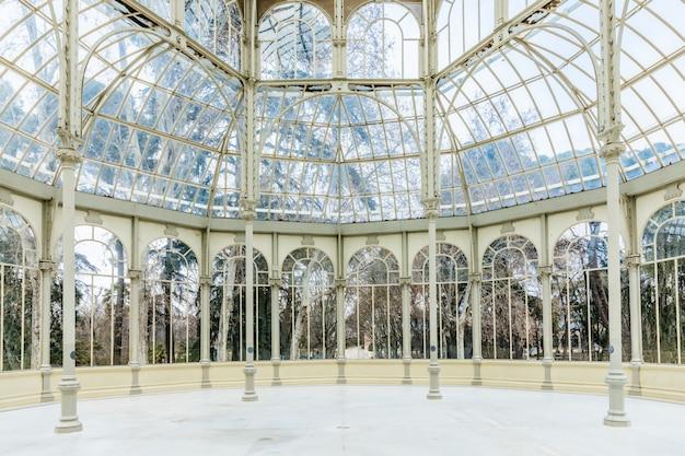 Monument palacio de cristal, madrid