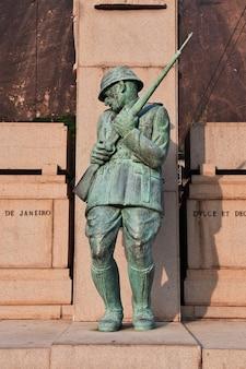 The monument in rio de janeiro, brazil