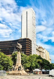 ブラジル、リオデジャネイロのフロリアーノペイクソト元帥の記念碑