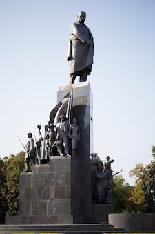 Kharkov의 taras shevchenko 기념비