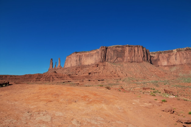 Monument valley in utah and arizona