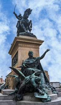 Monument to victor emmanuel ii in venice, italy.