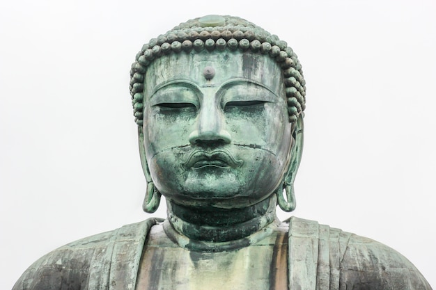 Monumental bronze statue of amitabha buddha.
