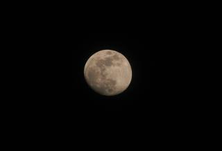 The moon, astronomy