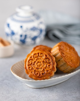 月餅中国の伝統的なペストリー
