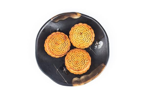 Mooncake, китайская еда фестиваля середины осени.