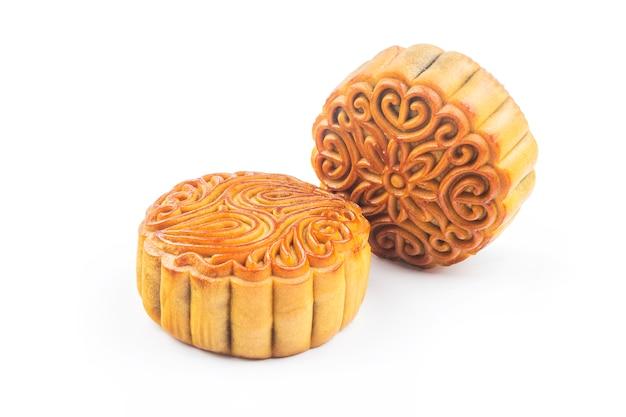 月餅、中国の中秋節の食べ物。