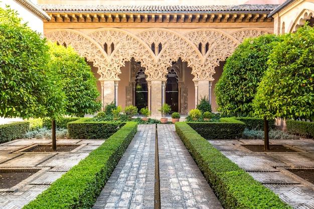 スペイン、サラゴサのmoorish garden