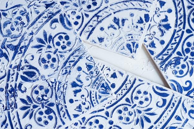 Moorish style tiles