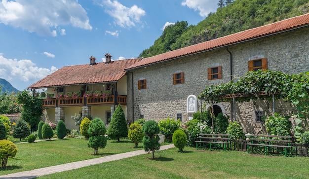 モンテネグロのモラカ修道院