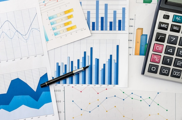ペンと電卓でより多くのビジネスグラフ