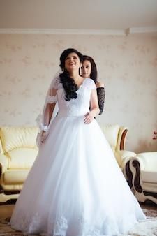Утро невесты и подруги