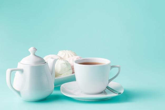Morning caffee scene