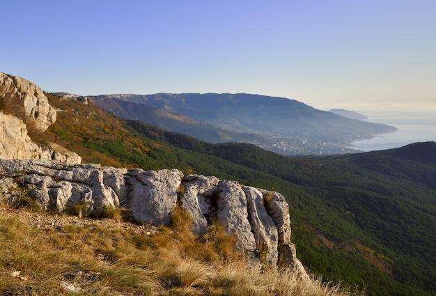 Aipetriのクリミア半島の朝