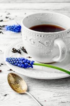お茶の朝マグ