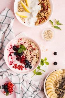 Утренние натуральные полезные десерты