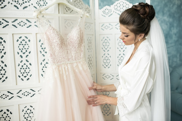 Утро невесты, приготовление к церемонии