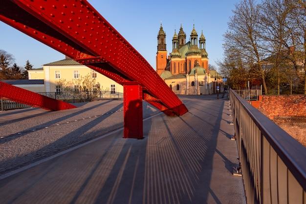 Morning poznan cathedral, poland