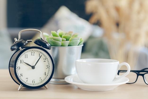 Morning sun. alarm clock