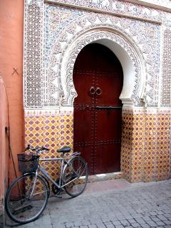 Moroccan gate, travelnorthafric