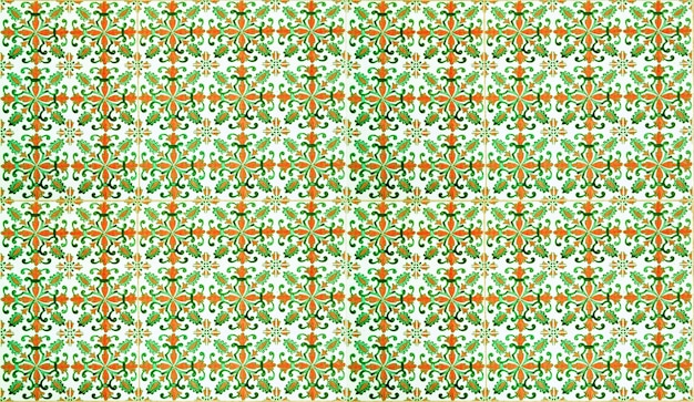 Moroccan tile pattern background