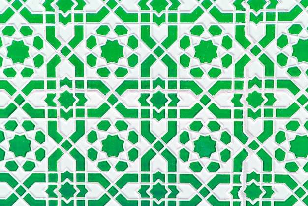 Moroccan tile, traditional seamless pattern
