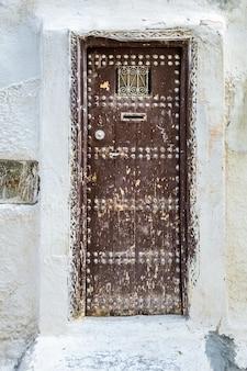 モロッコのドアと窓