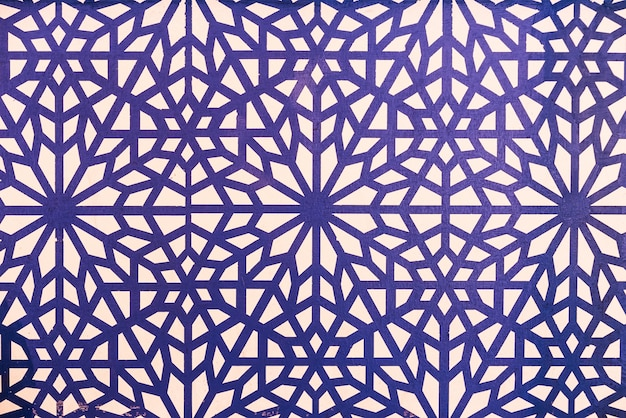 Morocco tiles background Free Photo