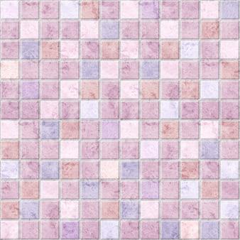 Мозаика, декоративная плитка из мрамора пастельных тонов. фоновая текстура камня