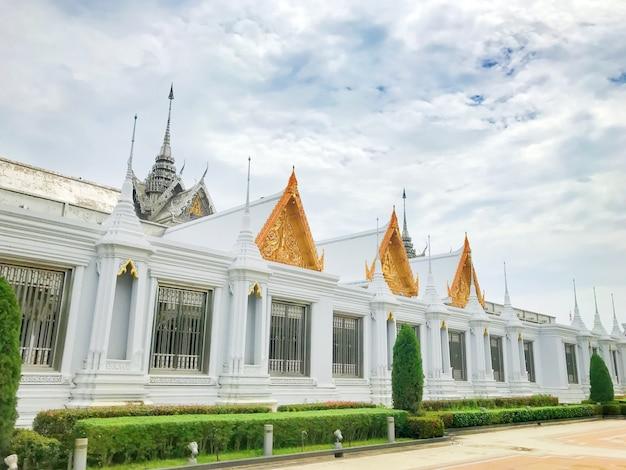 Mosaic sanctuary (glass chapel) at chantharam temple (thasung temple) at uthai thani, thailand