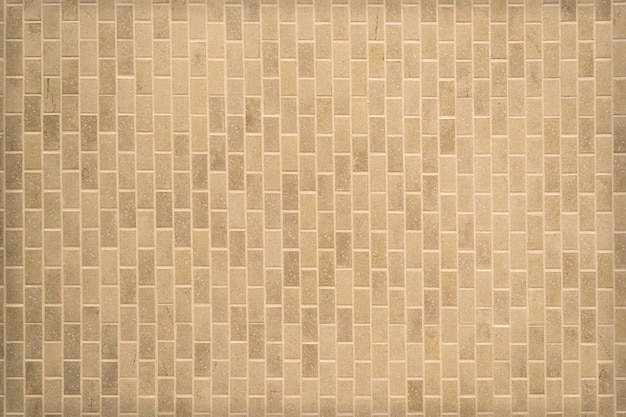 Mosaic tile wall pattern for background