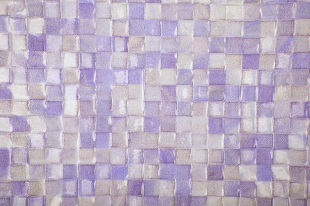 Предпосылка текстуры плитки мозаики. классическая керамическая плитка стены текстуры для интерьера