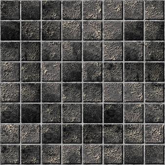 모자이크 타일 텍스처. 벽 장식 요소. 벽 장식용 석재 요소