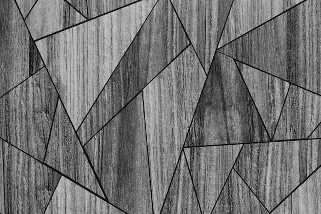 Mosaic wood pattern