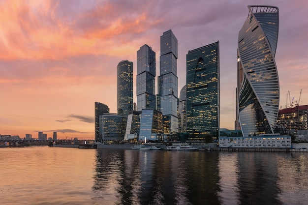 Московский международный деловой центр (москва-сити), россия