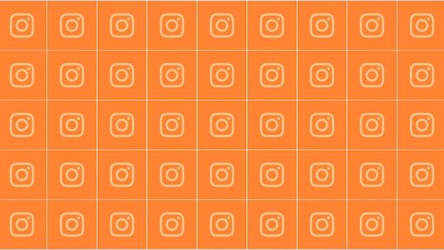Москва, россия - 9 декабря 2019 г .: иконки социальной сети instagram на простом фоне. элегантный и роскошный динамичный стиль для бизнеса, корпоративного и социального шаблона, 3d иллюстрация