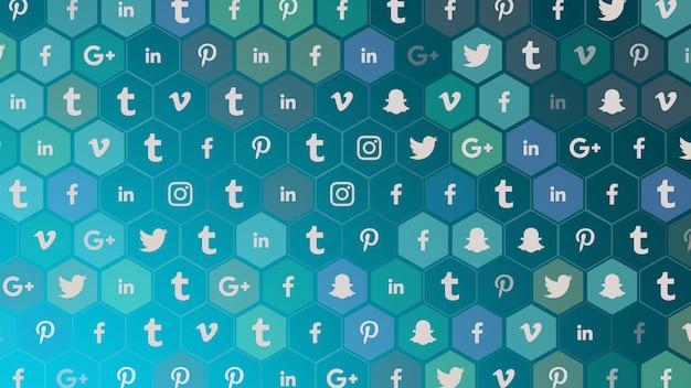 モスクワ、ロシア-2019年12月9日:シンプルな背景のソーシャルネットワークのアイコン。ビジネス、企業、社会のテンプレートのためのエレガントで豪華なダイナミックスタイル