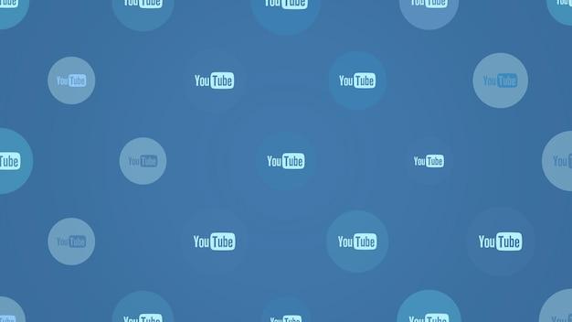 Москва, россия - 9 декабря 2019 г .: иконки социальной сети youtube на простом фоне. элегантный и роскошный динамичный стиль для делового, корпоративного и социального шаблона