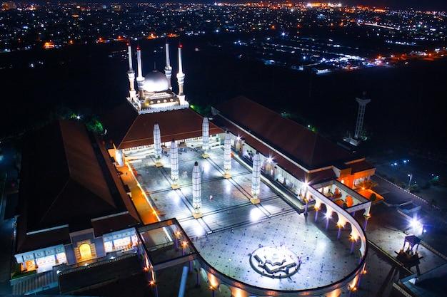 Mosque background (masjid agung jawa tengah)